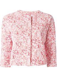 укороченные пиджак с цветочным рисунком Harris Wharf London