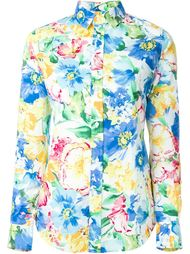 рубашка с цветочным принтом Polo Ralph Lauren