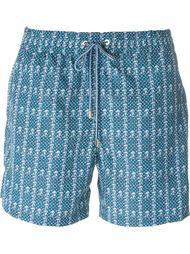 шорты для плавания с принтом Brioni