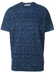 футболка с принтом символов   Givenchy