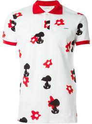 футболка-поло с принтом Snoopy  Iceberg