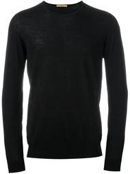трикотажный свитер с круглым вырезом Nuur