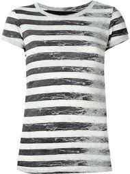полосатая футболка Mm6 Maison Margiela