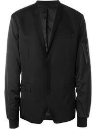 блейзер с рукавами от куртки-бомбер  Juun.J