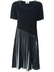 плиссированное платье-футболка  Cotélac