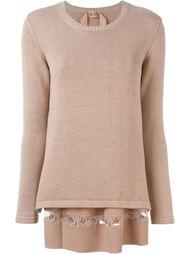 многослойный свитер Nº21