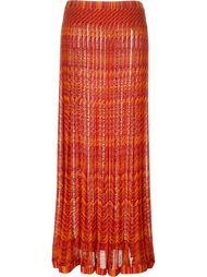 вязаная длинная юбка Missoni