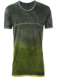 футболка с тонально-градиентным эффектом  Avant Toi