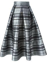 жаккардовая юбка  Maticevski