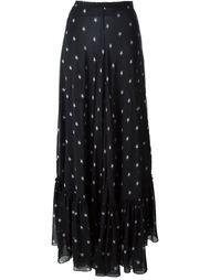 длинная юбка с принтом  Francesco Scognamiglio