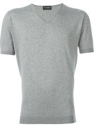 трикотажная футболка с короткими рукавами John Smedley