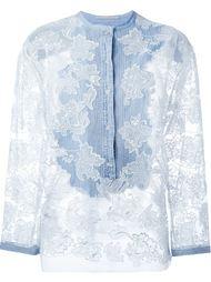 рубашка с джинсовым нагрудником Ermanno Scervino
