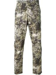 брюки с принтом джунглей Nº21