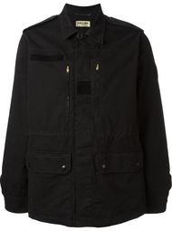 классическая куртка в стиле милитари Saint Laurent