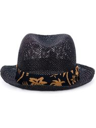 шляпа трилби с контрастной лентой Paul Smith