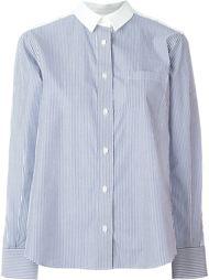 рубашка с кружевной спинкой Sacai