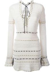 вязаное платье с заклепками Magda Butrym