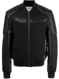 куртка-бомбер с панельным дизайном  Les Hommes