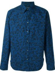 рубашка с принтом  Paul Smith Jeans