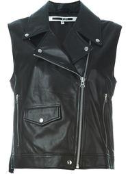 байкерская куртка без рукавов McQ Alexander McQueen