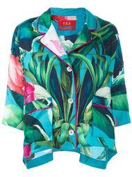 пижамная рубашка с цветочным принтом For Restless Sleepers