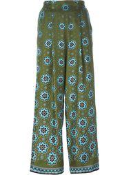 расклешенные брюки с цветочным принтом For Restless Sleepers