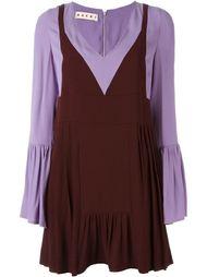 платье c V-образным вырезом  Marni