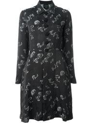 жаккардовое платье-рубашка  Jean Paul Gaultier Vintage