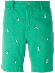 шорты с вышивкой  Polo Ralph Lauren