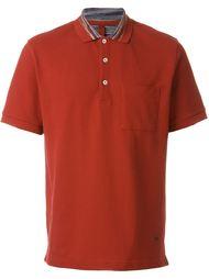 футболка-поло с принтом на воротнике  Missoni