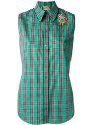 декорированная рубашка без рукавов  Nº21