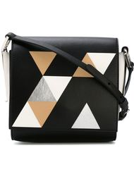 сумка через плечо с геометрическим узором  Desa 1972