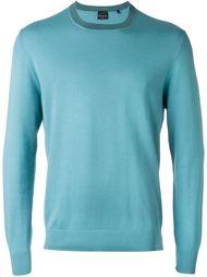 свитер с круглым вырезом   PS Paul Smith