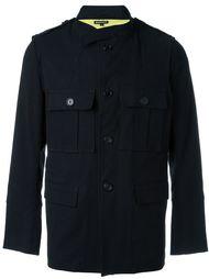 двухслойная куртка с накладными карманами Ann Demeulemeester