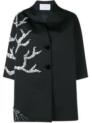 Embellished Midi Coat Osman
