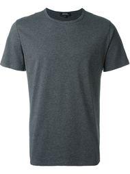 футболка с круглым вырезом  A.P.C.