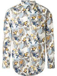 рубашка с принтом MSGM