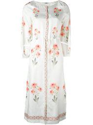 платье с принтом роз  Vilshenko