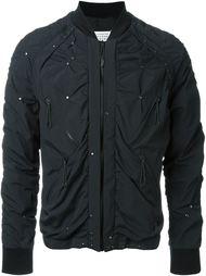 куртка-бомбер с заклепками  Maison Margiela
