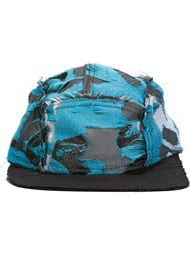 jacquard 5-panel cap Liam Hodges