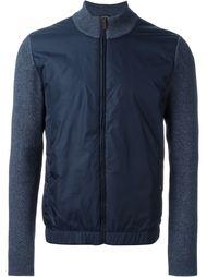 куртка-бомбер с контрастными рукавами   Boss Hugo Boss