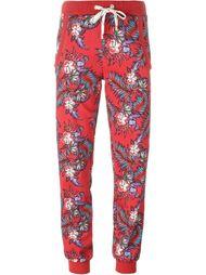 спортивные брюки с цветочным принтом House Of Holland
