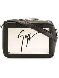 сумка через плечо с логотипом-подписью Giuseppe Zanotti Design