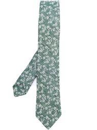 floral pattern woven tie Al Duca D'Aosta 1902