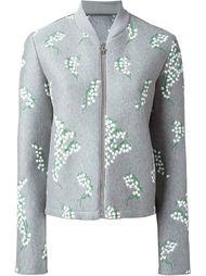 куртка-бомбер с вышивкой Moncler Gamme Rouge