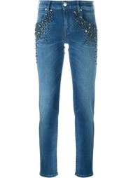 декорированные джинсы кроя скинни Jacob Cohen