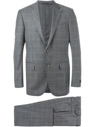 windowpane suit Ermenegildo Zegna