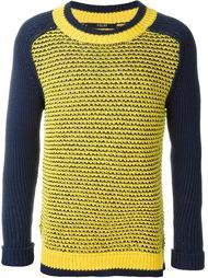 сетчатый свитер с круглым вырезом Sibling
