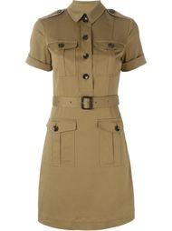 платье-рубашка в стиле милитари  Burberry Brit