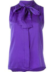 блузка с завязкой на бант Yves Saint Laurent Vintage